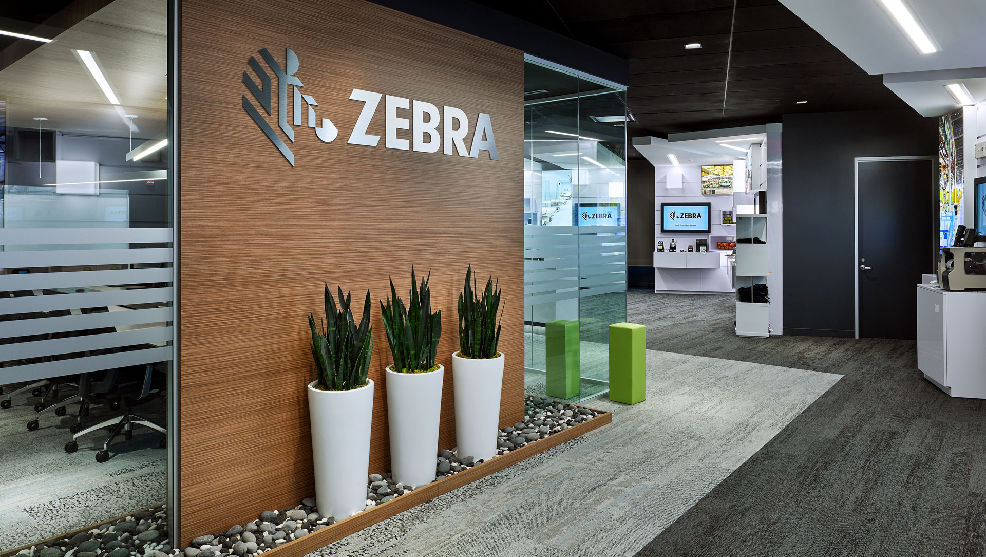 Zebra Technologies Experience Center entrance