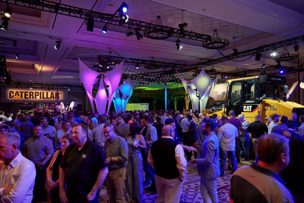 Built to Wow: Caterpillar at CONEXPO-CON | Guests mingling
