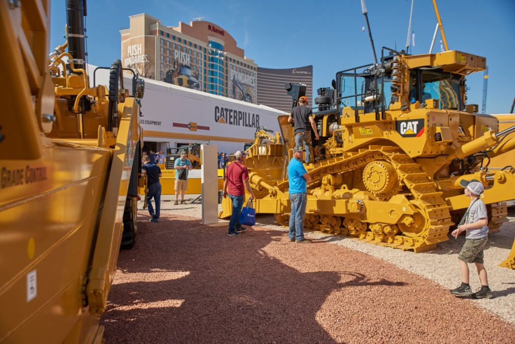 Built to Wow: Caterpillar at CONEXPO-CON | Sandpit Tent