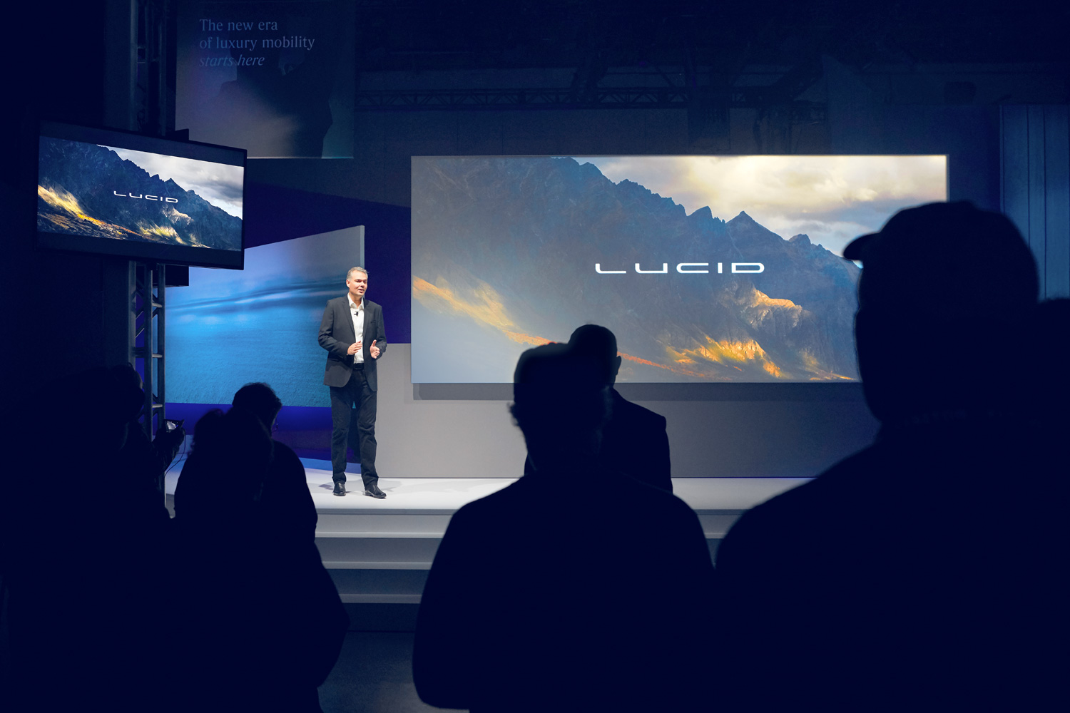 Lucid Air Launch Event